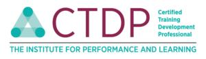 Certified Training & Development Professional badge