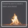 Image of a bonfire at night
