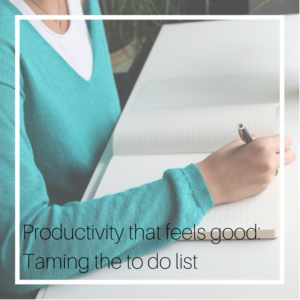 Blog post: Productivity that feels good @ MCL Consulting