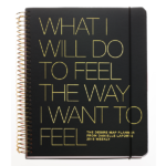 Danielle LaPorte's The Desire Map planner, weekly edition