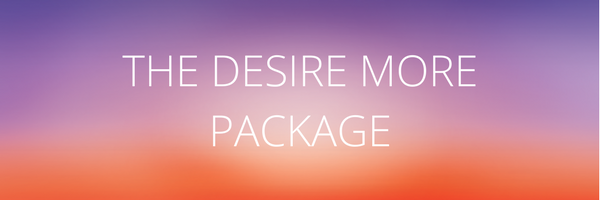 The Desire More new year package. The Desire Map + Vision Board