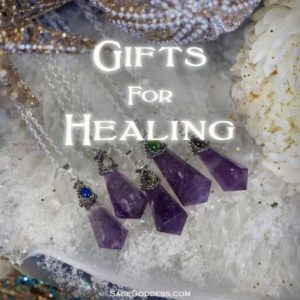 Image of Sage Goddess gifts for healing