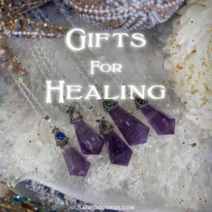 Image of Sage Goddess gifts for healing