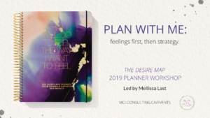 Plan with me event graphic